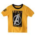 Marvel Boys Printed T-shirt,Gold,SIMGS20LTF004