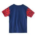 Marvel Boys Printed T-shirt,Navy Blue,SIMGS20LTF006