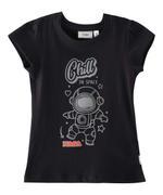 Nasa Girls T-shirt , Black - HWGLS21TEE11