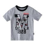 Disney Boys Printed T-shirt,Grey Melange,SIMGS20LTC004