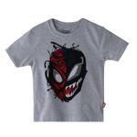 Marvel Boys Printed T-shirt,Ecru Melange,SIMGS20LTC012
