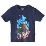 Marvel Boys Printed T-shirt,Navy,SIMGS20LTC013