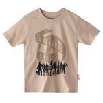 Marvel Boys Printed T-shirt,Lt Fawn,SIMGS20LTC017