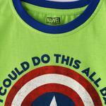 Marvel Boys Printed T-shirt,Lime,SIMGS20LTC018