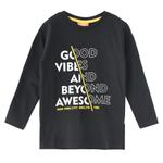 Nexgen Juniors Boys T-shirt , Black - HDGLW20B2086