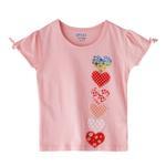 Genius Girls T-shirt,Peach,SIMGS20GEF014