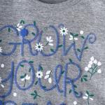 Genius Girls T-shirt,Grey Melange,SIMGS20GEF015