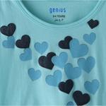 Genius Girls T-shirt,Mint,SIMGS20GEF018