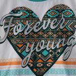 Genius Girls T-shirt,White&Green,SIMGS20GEF024