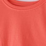 Genius Girls Plain T-shirt,Coral,SIMGS20GEF036