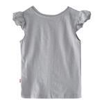 Genius Girls Plain T-shirt,Light Grey,SIMGS20GEF038