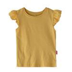 Genius Girls Plain T-shirt,Light Mustard ,SIMGS20GEF040