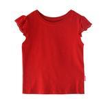 Genius Girls Plain T-shirt,Red ,SIMGS20GEF041