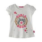 Nexgen Girls Girl T-shirt , Off White - SNGS2035166