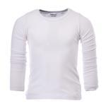 Zebra Crossing Boys School Uniform Full Sleevess Plain T-Shirt , White - VCG056