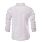 Zebra Crossing Boys Full Sleevess Plain T-Shirt , White - VCG057