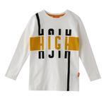 Nexgen Juniors Boys T-shirt , White - HDGLW20B2098