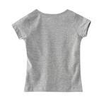 Nexgen Girls Girls T-shirt,Grey Melange,VCG037COL12
