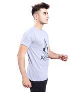 Assassins Creed Boys T-Shirt, Grey Melange,HWGLS20ASAC3