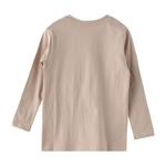 Nexgen Juniors Boys T-shirt , Dark Beige - HDGLW20B2092