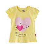 Smart Baby Baby Girls T-shirt-Yellow,SNGS2035130
