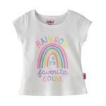 Smart Baby Baby Girls T-Shirt -White,SNGS2035121