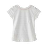 Nexgen Girls Girl T-Shirt,White,SNGS2035146