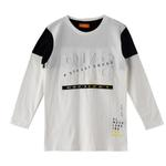 Nexgen Juniors Boys T-shirt , White - HDGLW20B2089