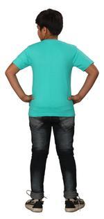 Genius Boys Printed T-shirt,Sea Green SIMGS20GTC018