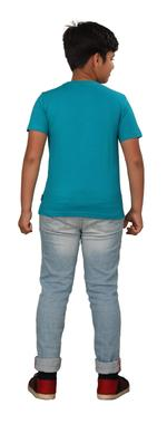 Genius Boys Printed T-shirt,Sage Green SIMGS20GTC019