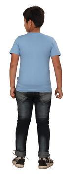 Genius Boys Printed T-shirt,Light Blue SIMGS20GTC024