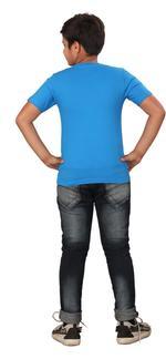 Genius Boys Printed T-shirt,Royal Blue SIMGS20GTC026