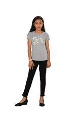 Genius Girls Printed T-shirt,Grey SIMGS20GEC001