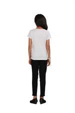 Genius Girls Printed T-shirt,Ecru Melange SIMGS20GEC008