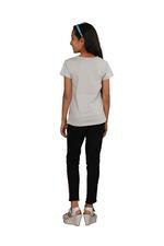 Genius Girls Printed T-shirt,Light Grey SIMGS20GEC021