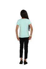 Genius Girls Printed T-shirt,Mint SIMGS20GEC025