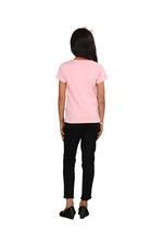 Genius Girls Printed T-shirt,Baby Pink SIMGS20GEC026