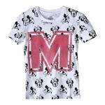 Minnie Mouse Girls Printed T-Shirt.White,TCGLTU7428