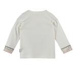 Chiquitos Baby Boys Full Sleeves T-shirt , White - BAGCB301
