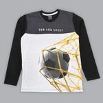 Nexgen Juniors Boys T-shirt , Dark Grey/Black - SIMGA20271022