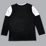 Nexgen Juniors Boys T-shirt , Black/Grey Melange - SIMGA20271027