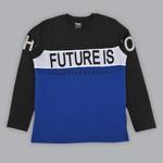 Nexgen Juniors Boys T-shirt , Black/Royal - SIMGA20271016