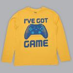 Nexgen Juniors Boys T-shirt , Gold - SIMGA20271007
