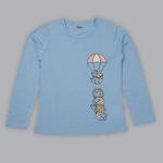 Nexgen Girls Girl T-shirt , Airforce Blue - SIMGA20371011G