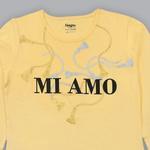 Nexgen Girls Girl T-shirt , Butter Lemon - SIMGA20371020