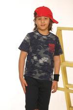 Nexgen Juniors Boys T-Shirt , Navy - SSG17170