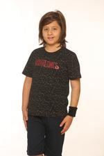Nexgen Juniors Boys T-Shirt , Black - SSG17172