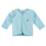 Smart Baby Baby Girls Full Sleeves Button Closure Plain T-shirt,Sea Green-BIGCG119ESGRN