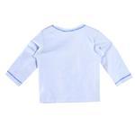 Smart Baby Baby Boys Full Sleeves Plain T-shirts,Blue-BIGCG219DBLU