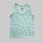 Smart Baby Baby Boys 2 Piece Pack Vest , Mint/Stripe - NCGSS21SBPB8B
